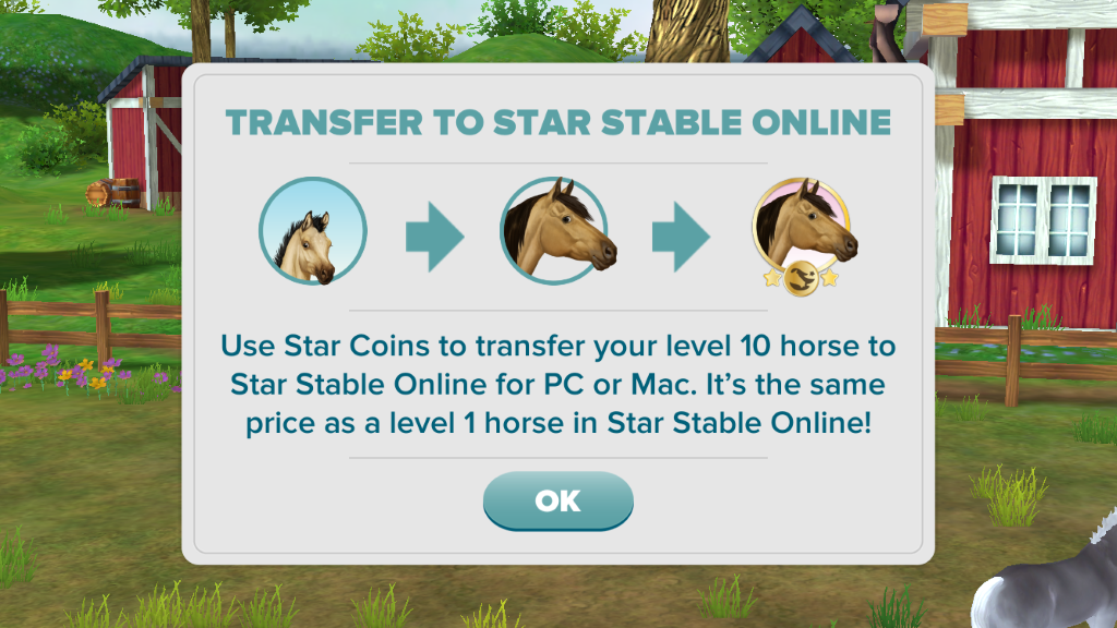How do I transfer my horse to SSO? – help starstable